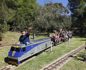 Willans Hill Miniature Railway - Winery Find