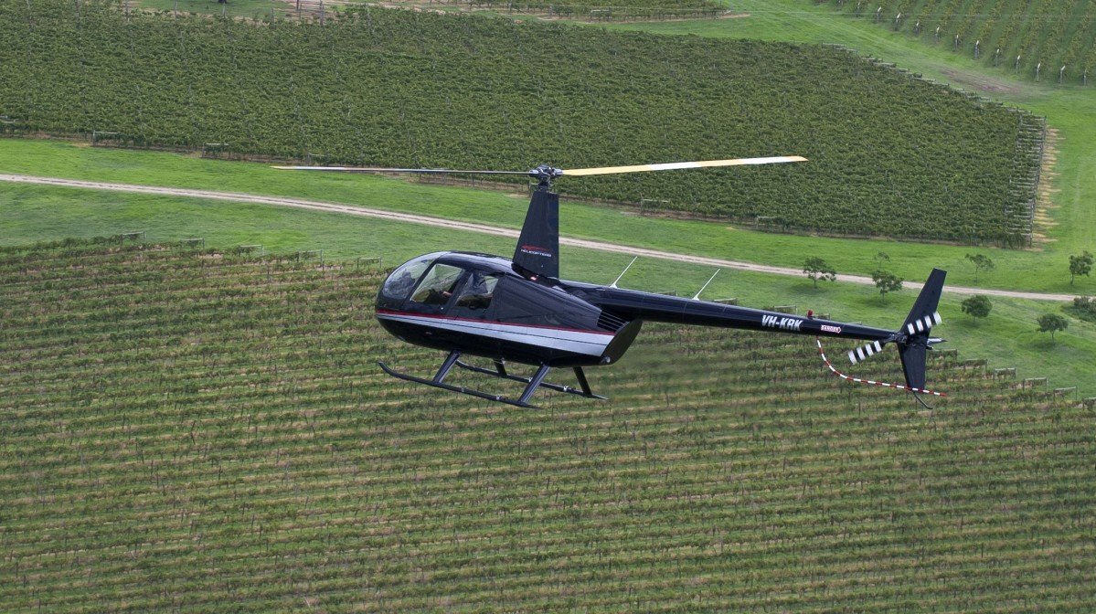 Hunter Valley Helicopters - Winery Find
