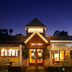 Chesters Restaurant at Heafod Glen Winery